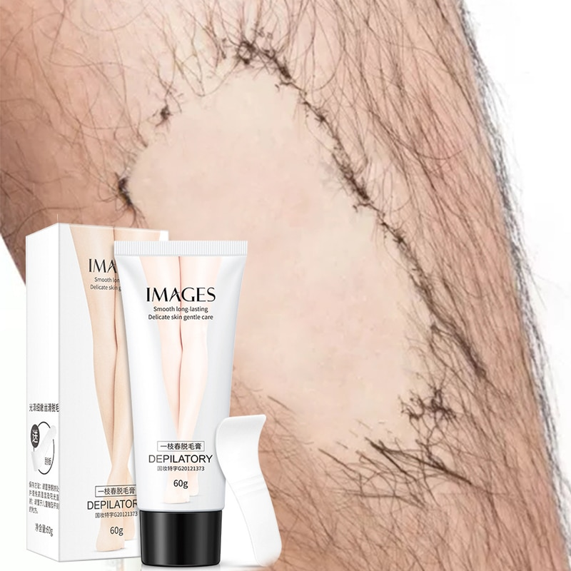 Depilatory Cream Hair Removing Cream for Women and MenHand Leg Hair Loss Depilatory Cream Removal Armpit Hair Care 60g