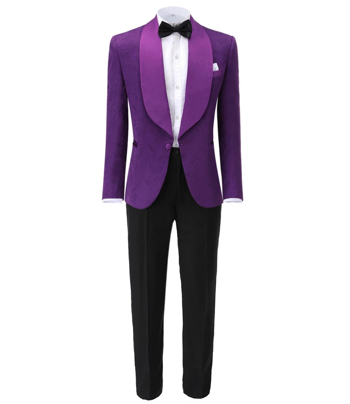 Фото - Mens Wedding Suits 2019 Italian Design Custom Made Black Smoking Tuxedo Jacket Notch Lapel Groomsmen Jacquard(Blazer+vest+Pants) italian interior design