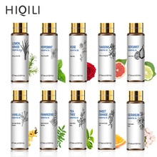 HIQILI Orange Tea Tree Essential Oils 10ML Diffuser Aroma Oil Eucalyptus Vanilla Bergamot Lemongrass
