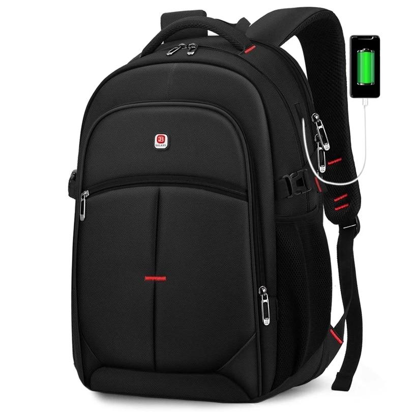 BALANG محمول على ظهره الرجال النساء بولسا Mochila لمدة 14-17 بوصة الكمبيوتر المحمول حقيبة الظهر حقيبة مدرسية للمراهقين 2021