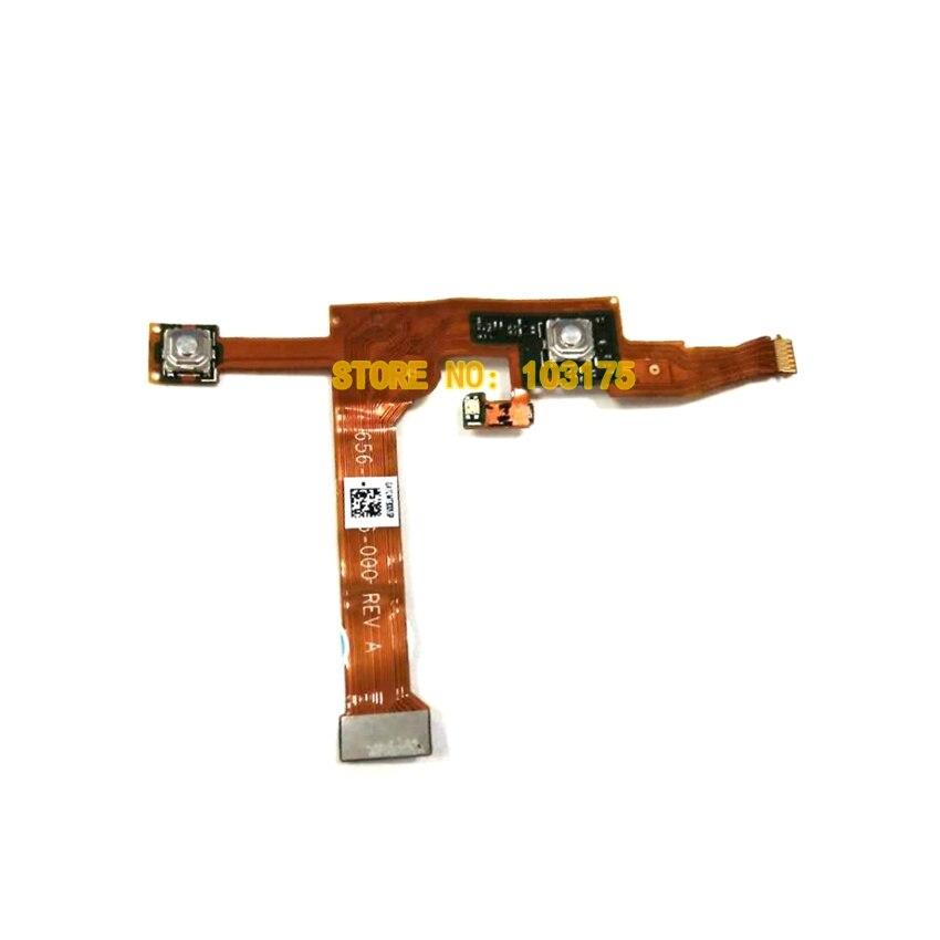 Botón de ajuste de selección de obturador Original, Cable flexible para Gopro Hero 5, pieza de cámara