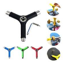 Mini tout-en-un Skateboard réparation y-tool tournevis multi-fonctionnel Longboard Scooter clé patins réparation outils accessoires