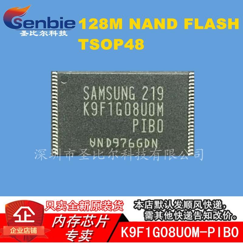 Nand de Memória Flashi ic New10piece K9f1g08u0m-pib0 K9f1g08uom-pib0 Tsop48