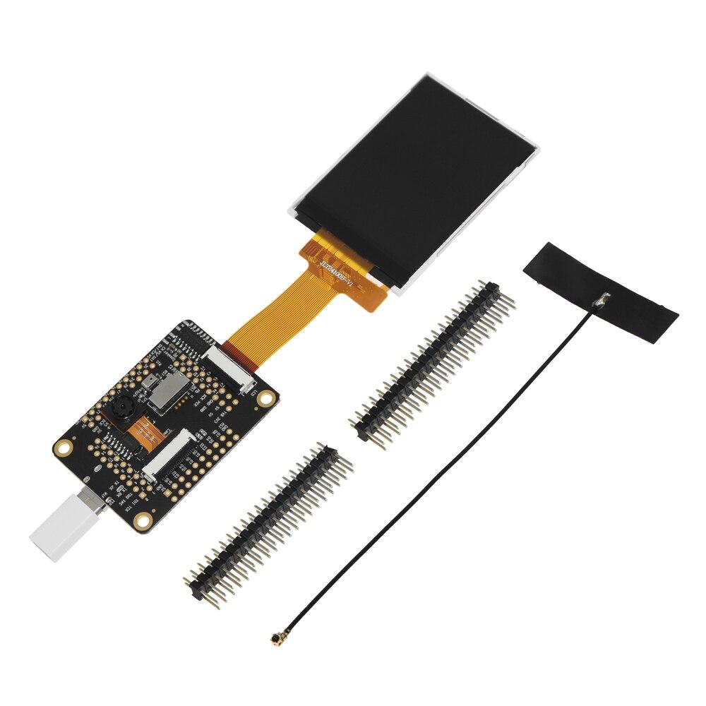 Envío Gratis Sipeed M1W AI para K210 dentro muelle Placa de desarrollo con WIFI + 2,4 pulgadas 320*240 pantalla LCD + OV2640 Kit de cámara