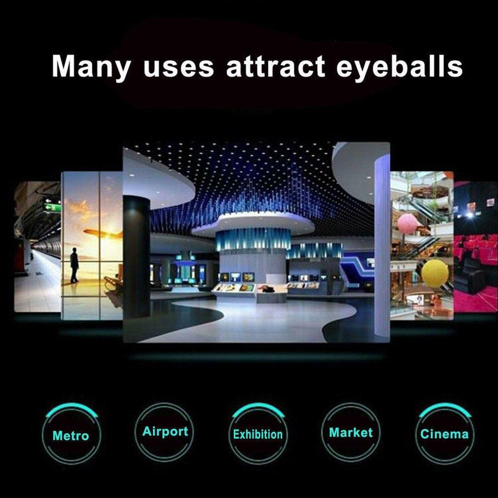 3D голограмма светодиод вентилятор проектор реклама плеер голографический проекция свет вращающийся изображение лампа видео изображение голограмма дисплей