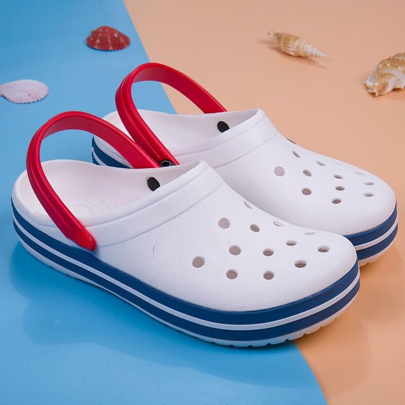 المرأة أحذية الشاطئ حذاء للحديقة الرجال عادية في الهواء الطلق عدم الانزلاق تنفس الصنادل موضة الفتيات النساء النعال الصيف الصنادل