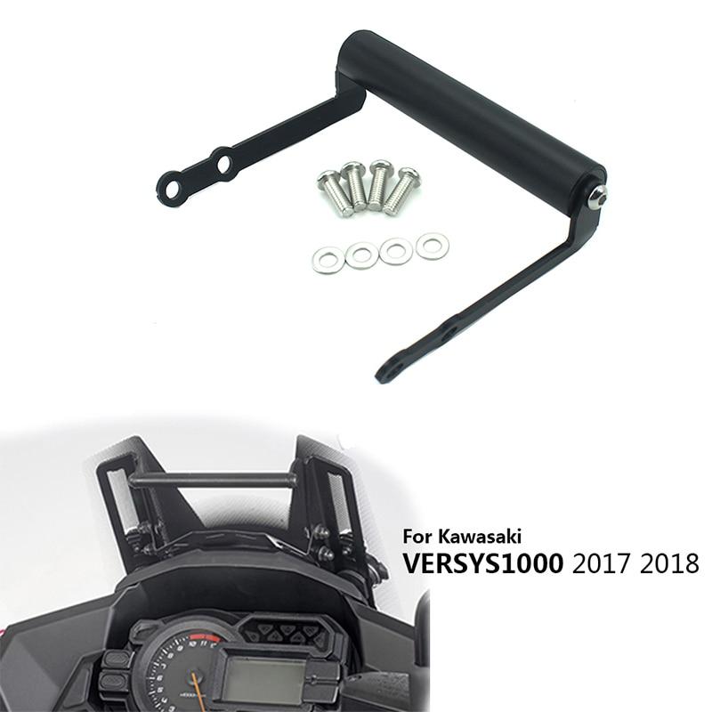 Мотоцикл мобильный телефон GPS навигация Кронштейн монтажный кронштейн для Kawasaki Versys 1000 VERSYS1000 2017 2018