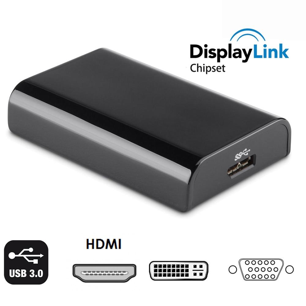 ¿Convertidor USB 3,0 a HDMI USB 2,0 USB 3,0 a HDMI VGA DVI convertidor de windows para windows 10/Mac Os? Displaylink USB 3,0 convertidor de vídeo