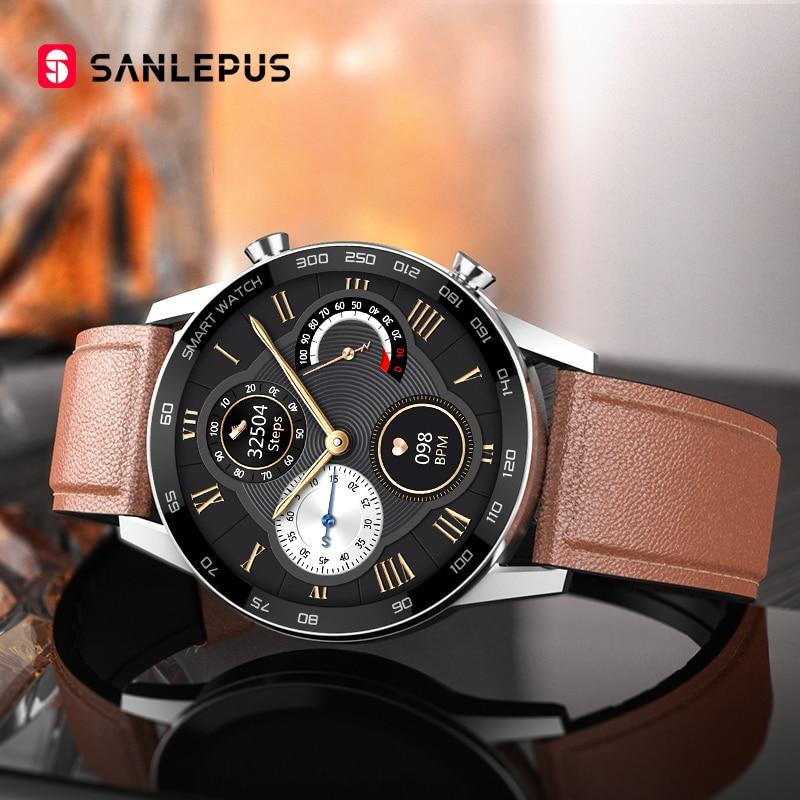 2021 SANLEPUS Business Smart Watch Bluetooth Call Smartwatch Men Sport Fitness Bracelet Clock For Android Honor Huawei Xiaomi