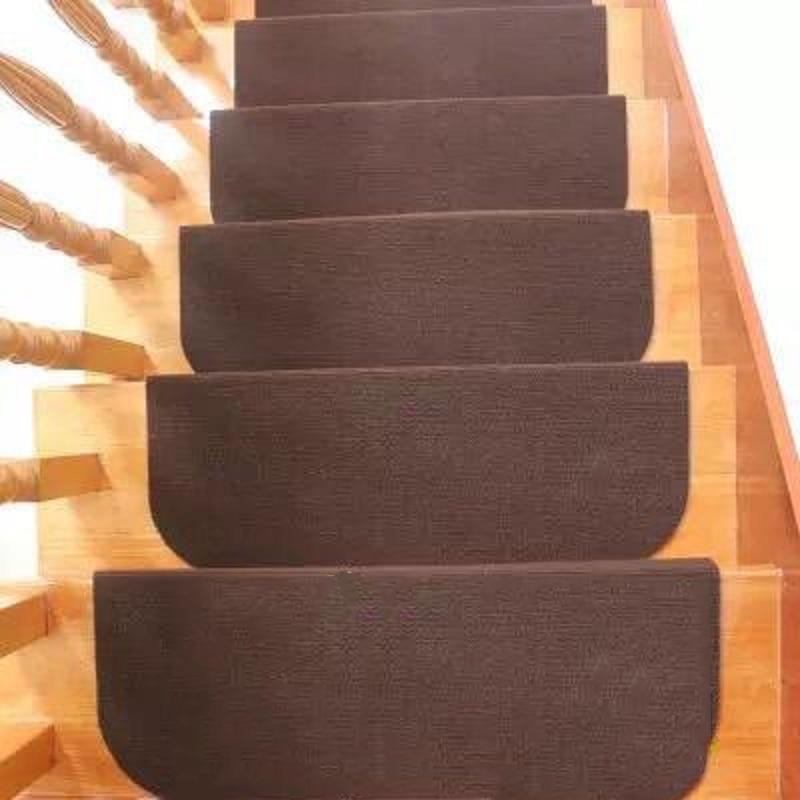 14 unids/set 2 tamaños antideslizante autoadhesivo almohadillas de escalera Mat Sticky Bottom uso repetido almohadillas de seguridad alfombras alfombra para decoración del hogar