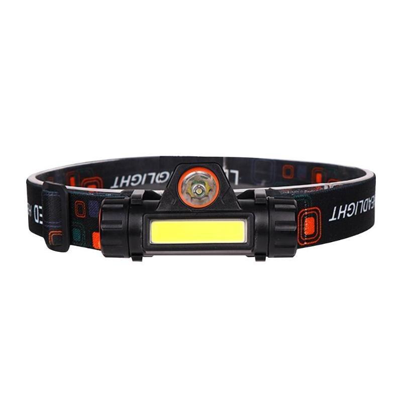 Portátil mini lanterna xpe + cob led farol de alta potência 18650 bateria acampamento noite pesca luz