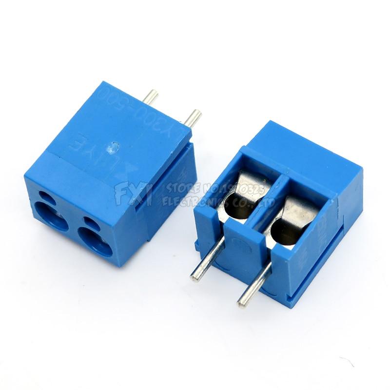 10 PÇS/LOTE KF300-5.0-2P KF300-2P 250V 16A Parafuso 2Pin 5.0 milímetros Alfinete PCB Screw Bloco 14-22A WG
