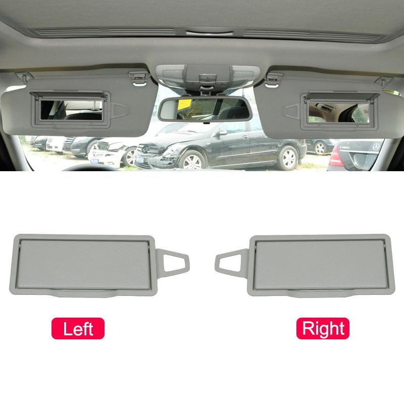 Car Sun Shade Visor Makeup Cosmetic Mirror Cover Left/Right Sunvisor Mirror For Mercedes-Benz W204 X204 E/GLK Class 2008-2014