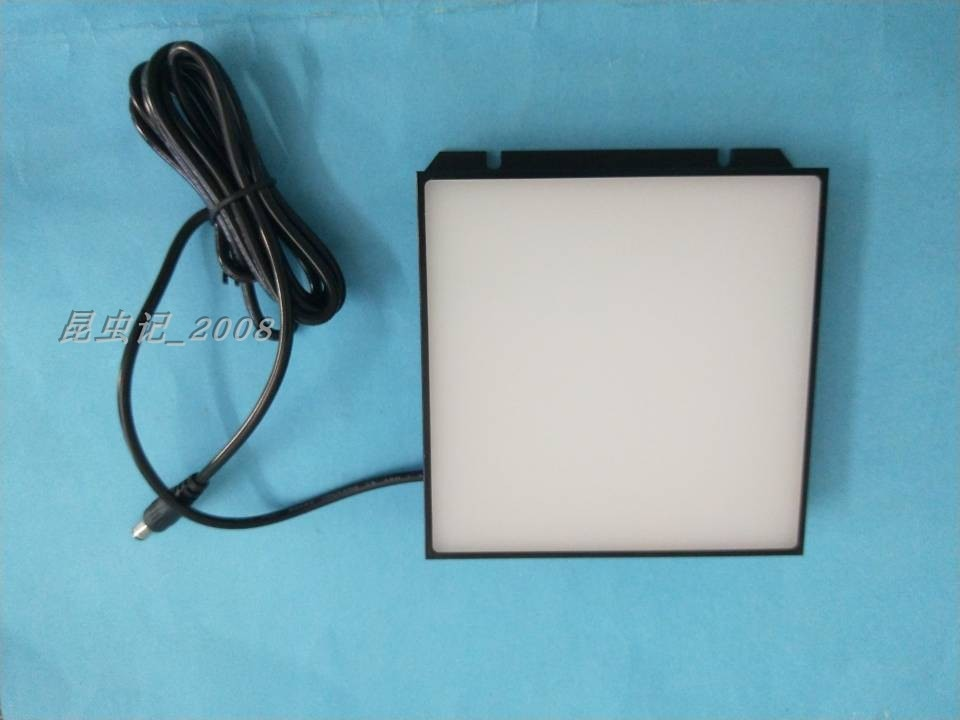 Surface Light Source Microscope Light Source Machine Vision Light Source LED Light Source Detection Back Light Source 120x120mm