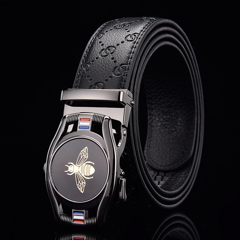 aliexpress.com - 2020 new men's belt, automatic buckle, famous brand men's belt, men's luxury belt, stylish leather business belt