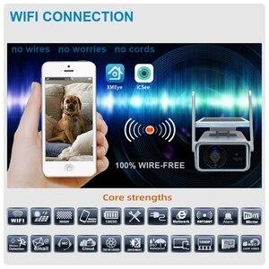Solar Energy IP Camera Wifi 1080P Hd CCTV Outdoor IR Wireless Surveillance Cameras Waterproof Home Security