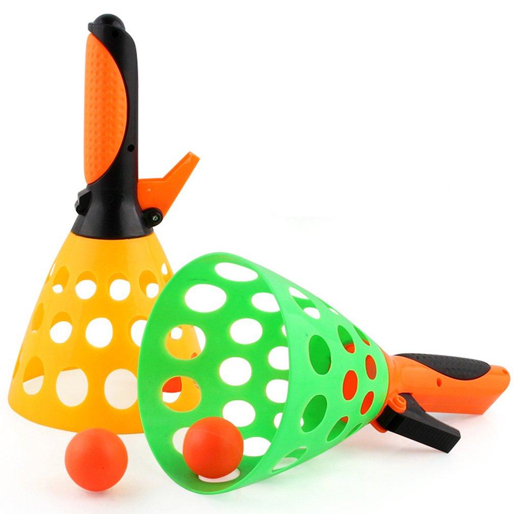 1 Juego de catapulta para padres e hijos, pelota de tenis de mesa, perfecto para niños juguete, pelotas de goma interactivas al aire libre, juguetes para Pelotas de Ping Pong