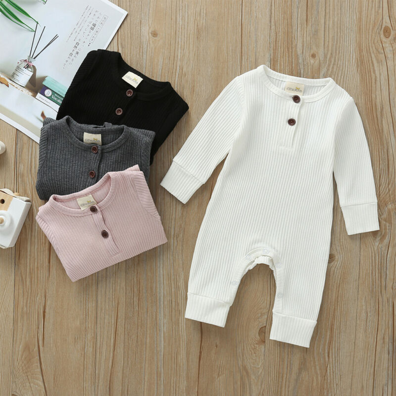 baby girl clothes autumn lattice knitted baby clothes newborn baby girl romper cotton baby cardigan sweater romper jumpsuit 2021 Baby Autumn Winter Clothing Newborn Infant Baby Boy Girl Cotton Romper Knitted Ribbed Jumpsuit Solid Clothes Warm Outfit