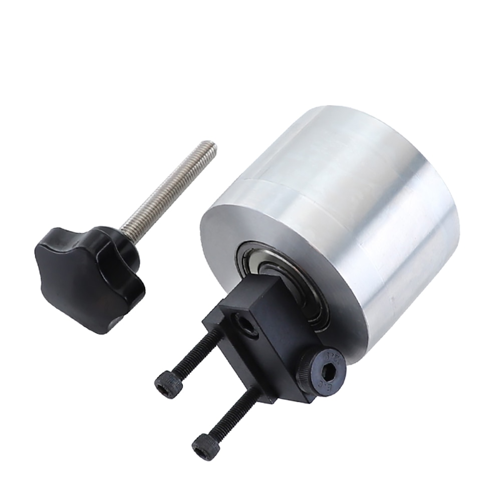 Diy correia abrasiva liga de alumínio ajuste roda síncrona roda roda lixadeira de polir máquina passiva roda 68x50mm