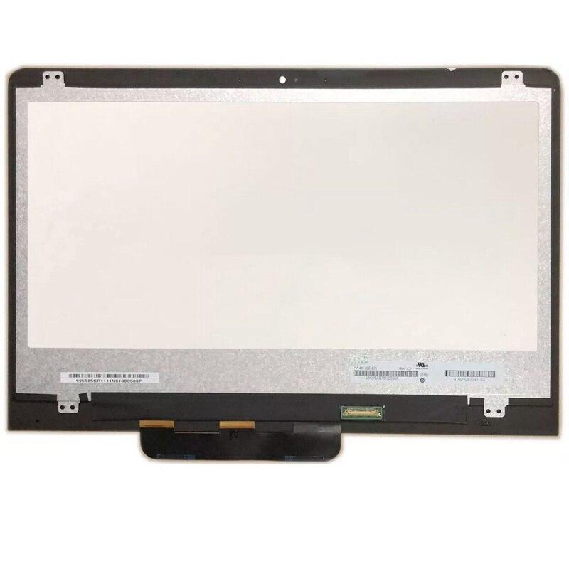 """14,0 """"FHD Panel de pantalla LCD táctil de cristal digitalizador asamblea para ASUS Vivobook abatible 14 TP410 TP410U TP410UA TP410UR TP410UF"""