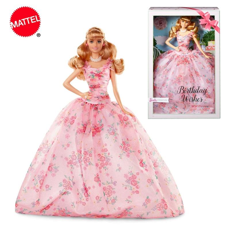Muñeca Barbie de colección para niñas, muñecos de colección deseos, muecacumpleaos, deseos,...