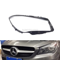 car headlight lens for mercedes benz w117 cla 2016 2017 2018 headlamp cover replacement auto shell
