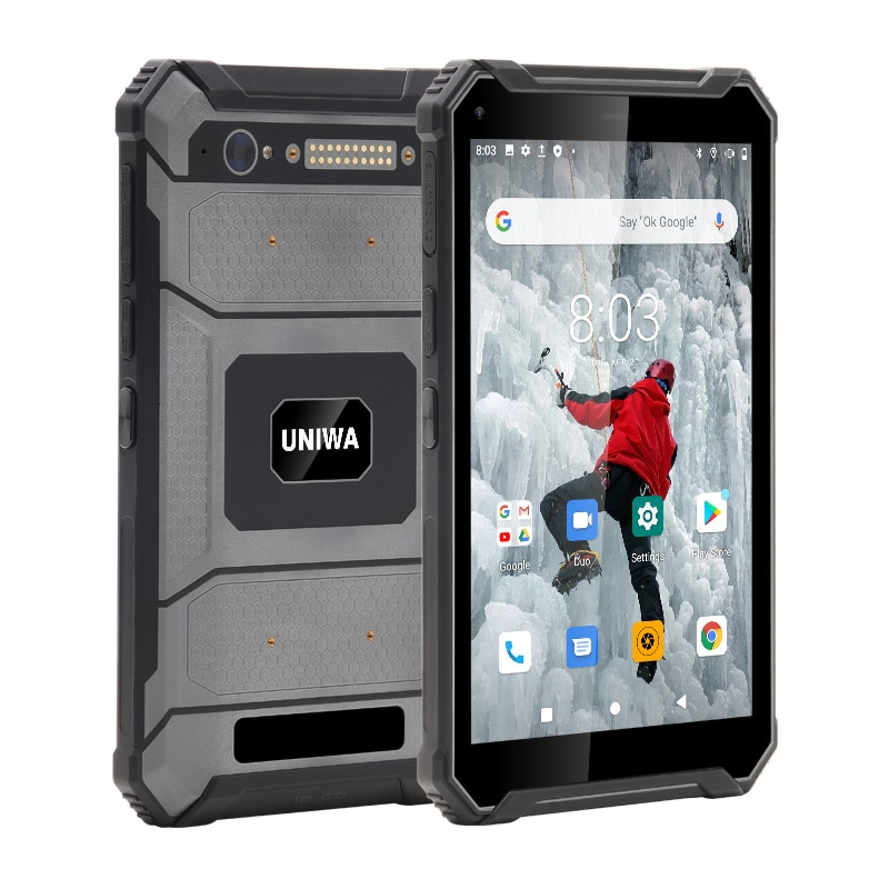UNIWA T83 Waterproof Android 10.0 Mobile Phone Tablet 8 inch 12000mAh 6 RAM 128GB ROM Dual SIM Card NFC Rugged Tablet enlarge