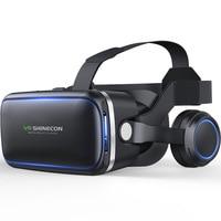 Очки виртуальной реальности VR Стекло es 3D Realidade Виртуальная реальность, стерео очки, очки Стекло обновления игровая коробка для игр