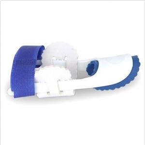 1pair Gift Blue Plastic Toe Toe Straightener Hallux Valgus Orthotics Foot Toe Corrector Separator