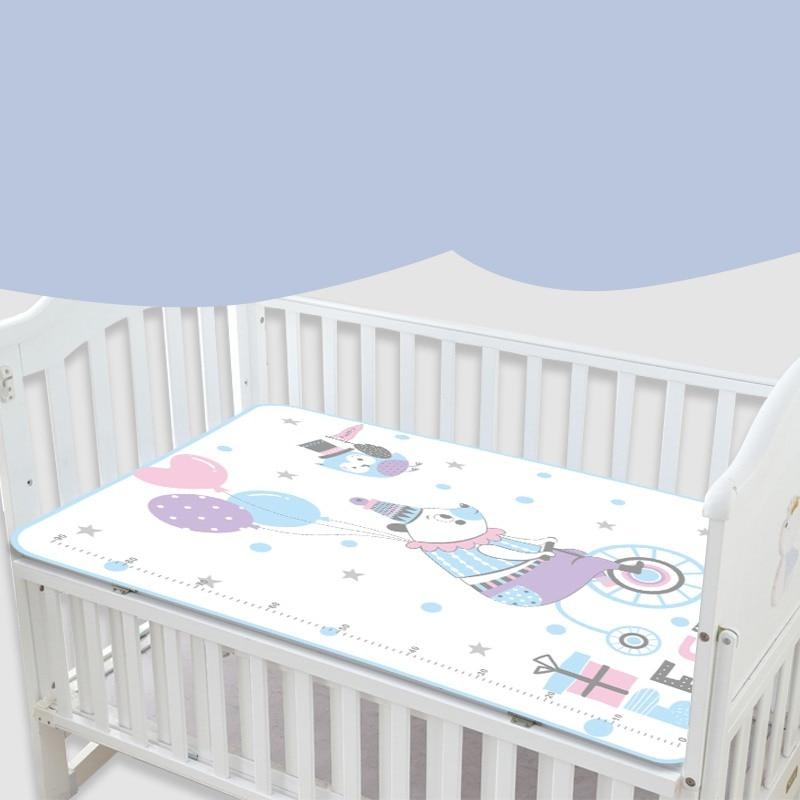 Bebé lavable pañales orina Mat chico impermeable ropa de cama cambiar las almohadillas cubre a prueba de orina colchón de la cuna