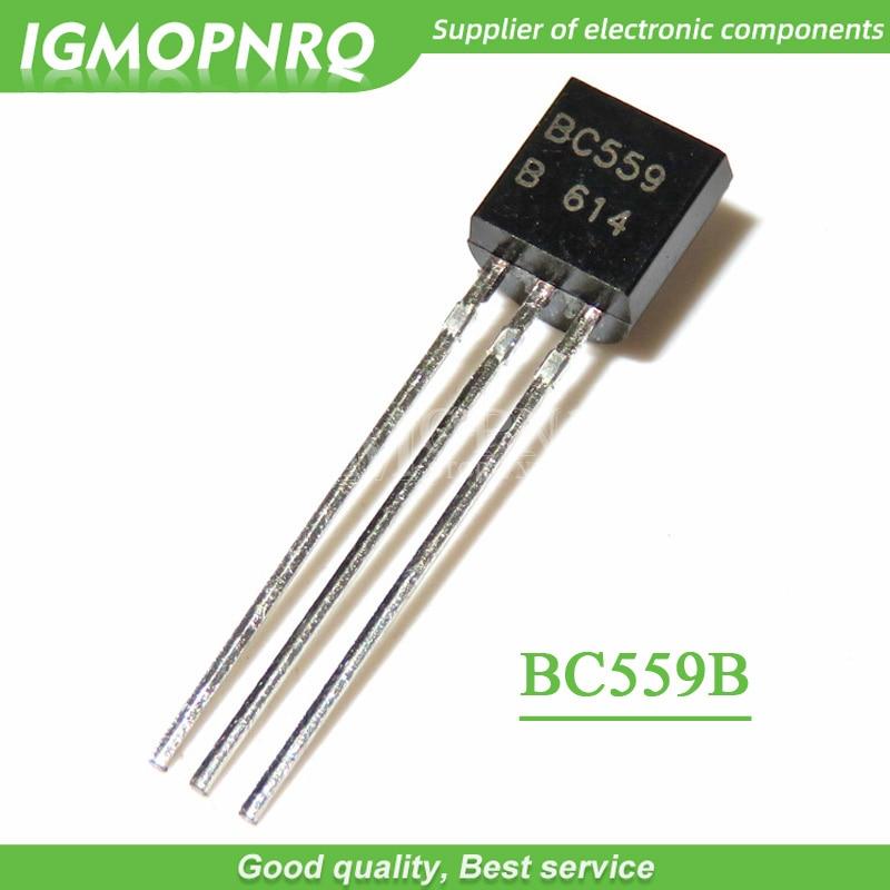 100 Uds BC559B a 92 BC559 TO92 559B nuevo transistor triodo