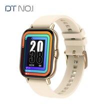 Reloj inteligente DT No.1 DT94 para hombre y mujer, pulsera con llamadas por Bluetooth, pantalla de 1,78 pulgadas 320x385, resistente al agua IP67, con música, para Xiaomi y Huawei