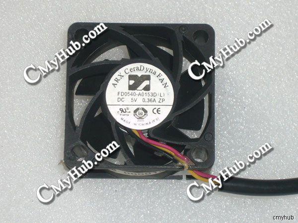 Per ARX FD0540-A0153D L DC5V 0.36A 4020 4 CENTIMETRI 40 millimetri 40x40x20mm 3pin Ventola Di Raffreddamento