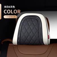 for mercedes benz maybach s class headrest luxury car pillows car travel neck rest pillows seat cushion support napa leather
