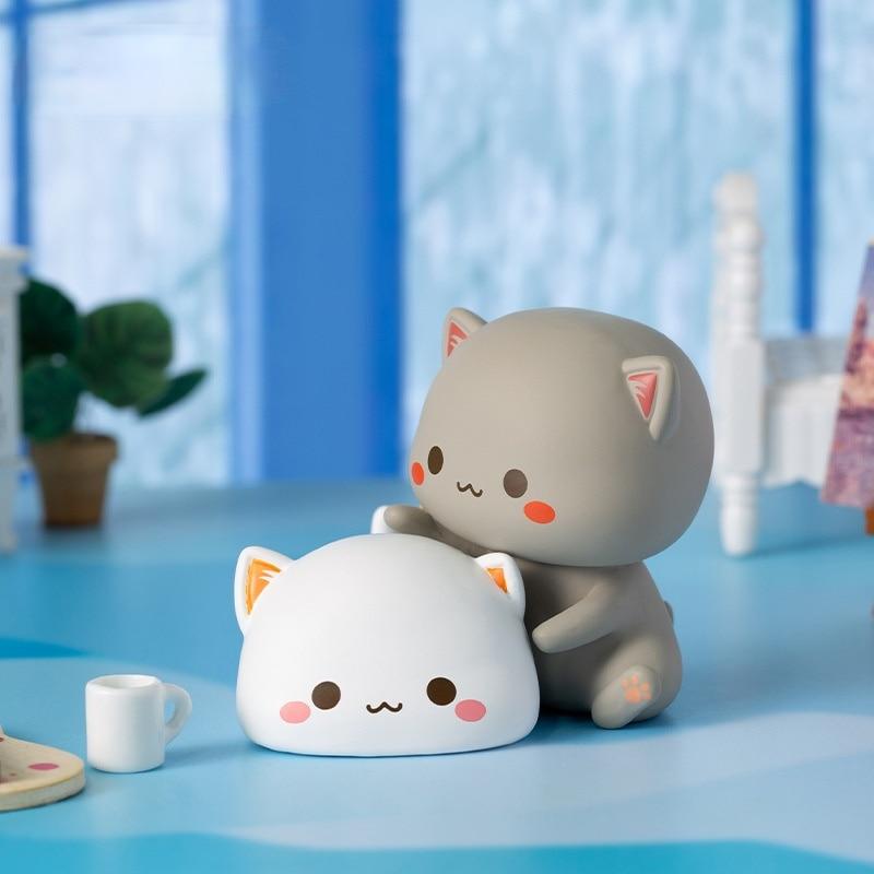 Mitao Cat второго поколения счастливая кошка дешевая Милая кошка искусственная Милая мультяшная кукла ручной офис подарок на день рождения