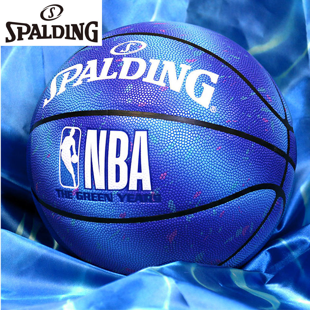 Spalding Official Authentic Starry Sky Ocean Training Game No. 7 Indoor and Outdoor Adult Student Basketball
