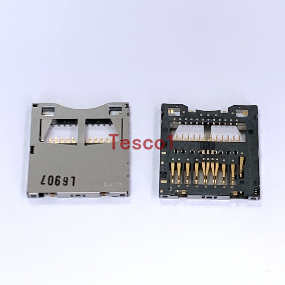 Original nueva ranura para tarjeta de memoria SD soporte para Panasonic G6 LX2 LX3 LX4 LX5 MDH1 FZ18 V100 Reparación de cámara parte