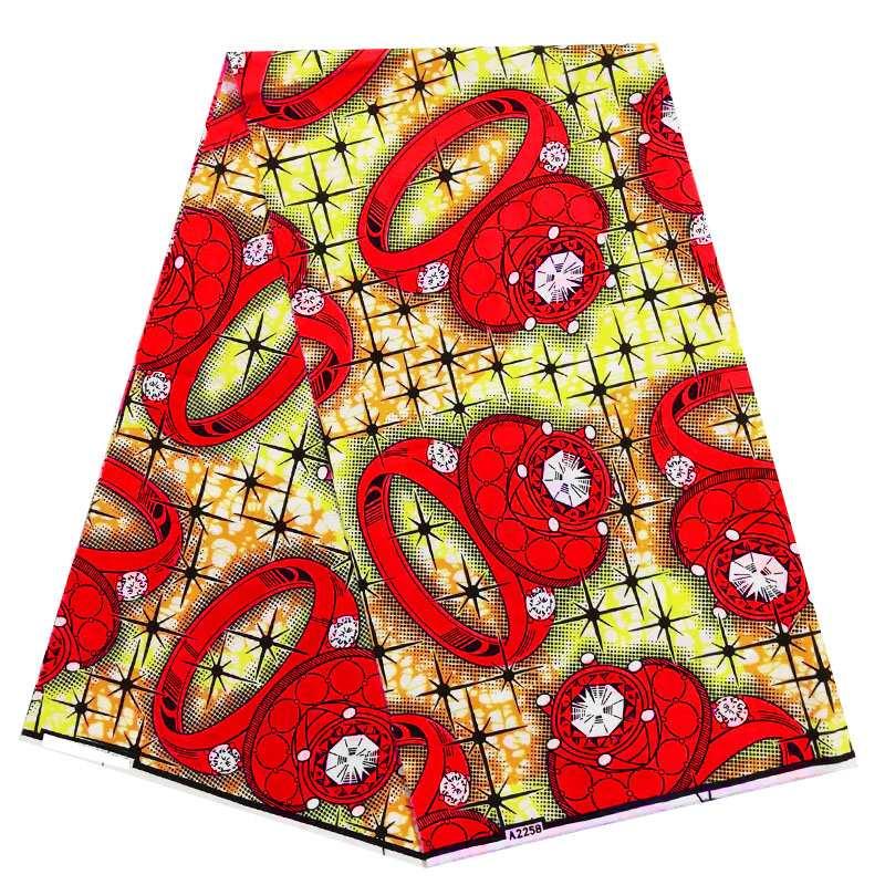 newest african block wax print fabric and java design,fahsion nigerian ankara 100% cotton wax fabric for women party
