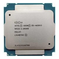 intel xeon e5 4650v3 e5 4650v3 e5 4650 v3 2 1ghz 12 core 30mb ga2011 3 105w suitable for x99 motherboard