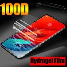 100D película completa de hidrogel para Lenovo S5(K520) Z5 Z5s Z6 Pro Z6 Lite Z6 Z5 Protector de pantalla de TPU blando Lenovo K6 K10 Note (no cristal)