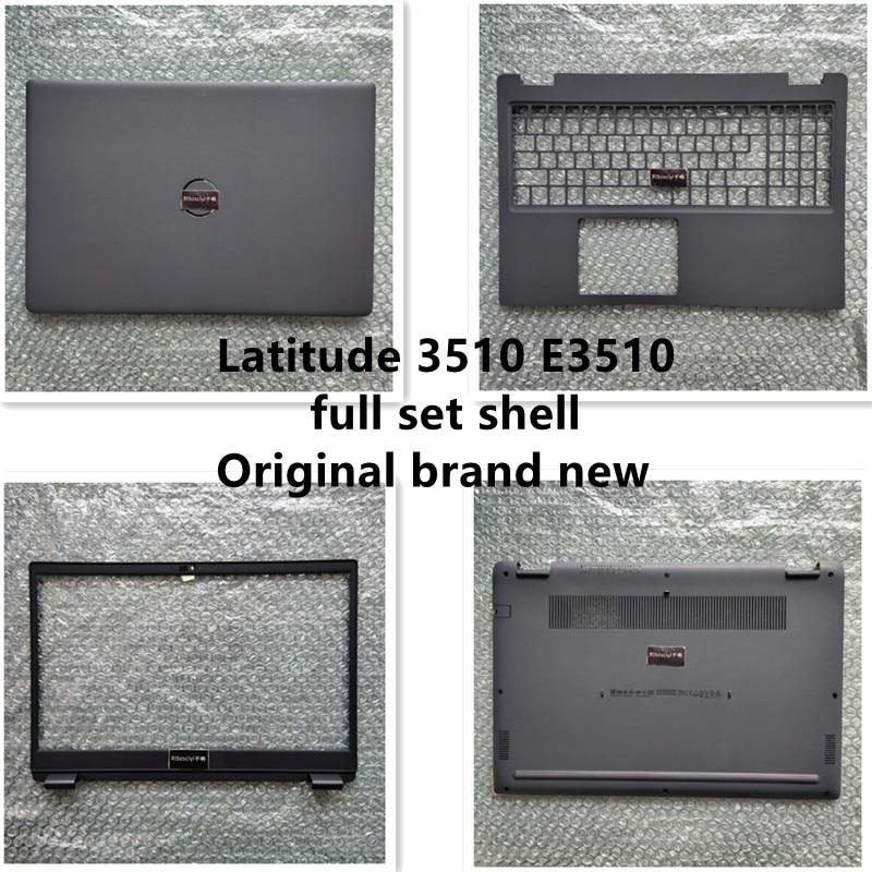 جديد لـ DELL Latitude 15 3510 E3510 LCD الغطاء الخلفي الحافة الغطاء العلوي السفلي غطاء لابتوب 08XVW9 0PG2XT 0GCK6R 0JYG4Y 0MH24R