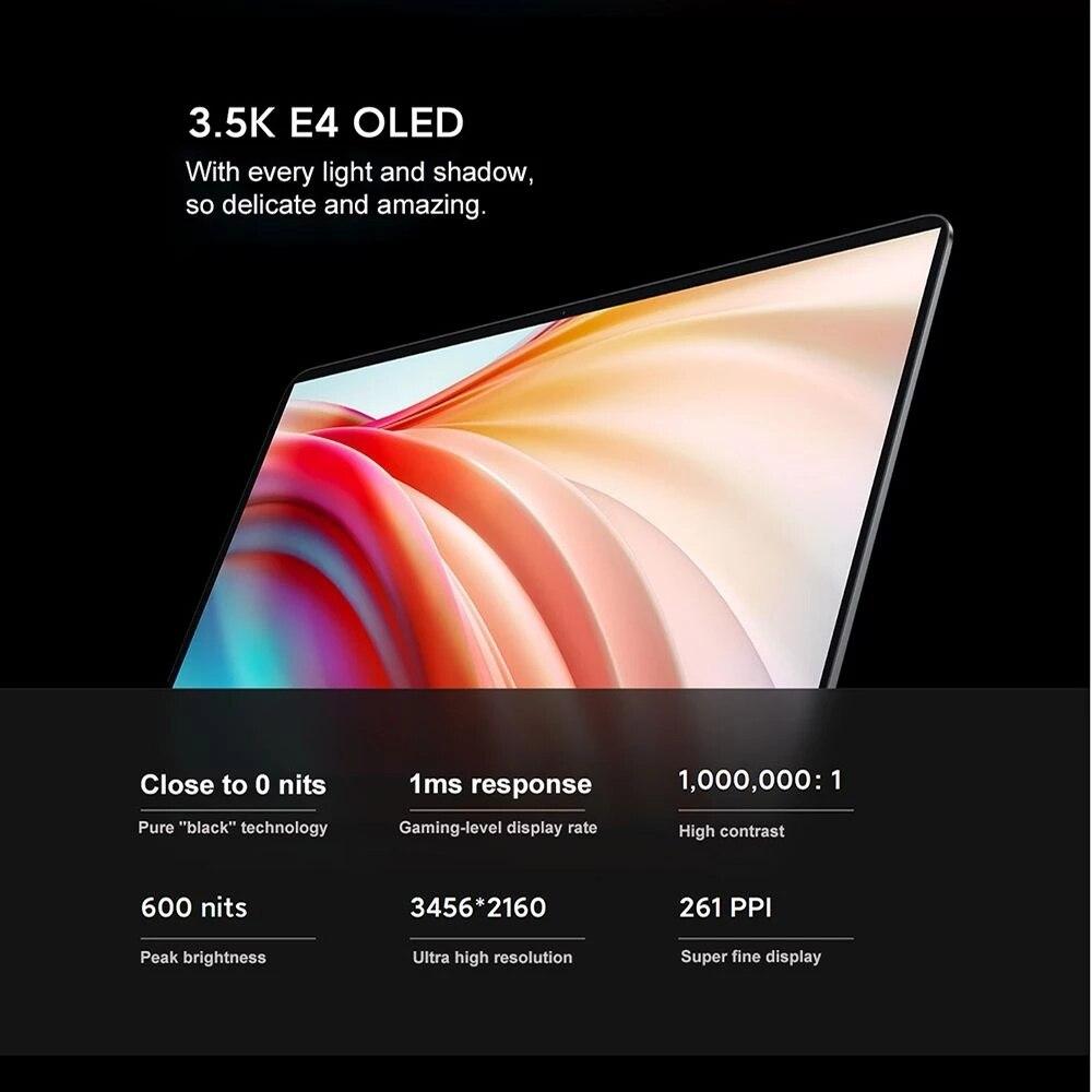 2021 Xiaomi Mi Laptop Pro X 15 RTX 3050 Ti Intel Core I5-11300H 16G DDR4+512G SSD 3.5K OLED 15.6Inch Notebook Gaming Computer