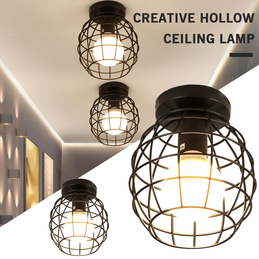 Железные двери Творческий светильник проход потолочный светильник s минималистические винтажные балкон, потолочный светильник для кухни ф...