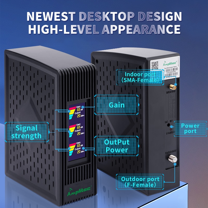 900 1800 2100 GSM Repeater 2G3G4G Cellular Signal Amplifier LTE 4G DCS Mobile Signal Booster 4G Repeater Cellular Amplifier Host enlarge