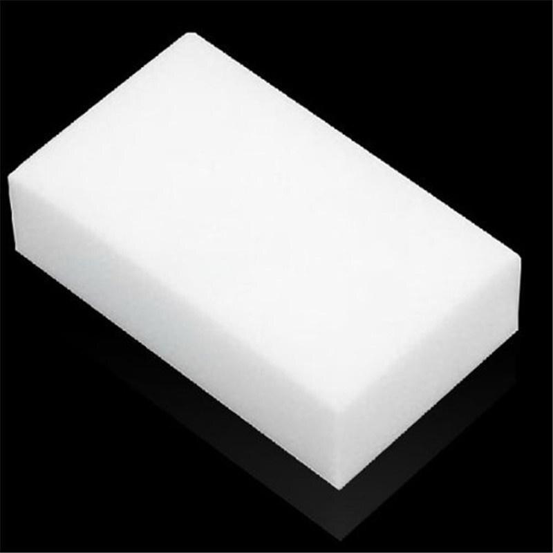MeterMall 1Pc de melamina esponja Borrador de esponja mágico de melamina limpiador para oficina de cocina Limpieza de baño Nano esponjas 10x6x2cm