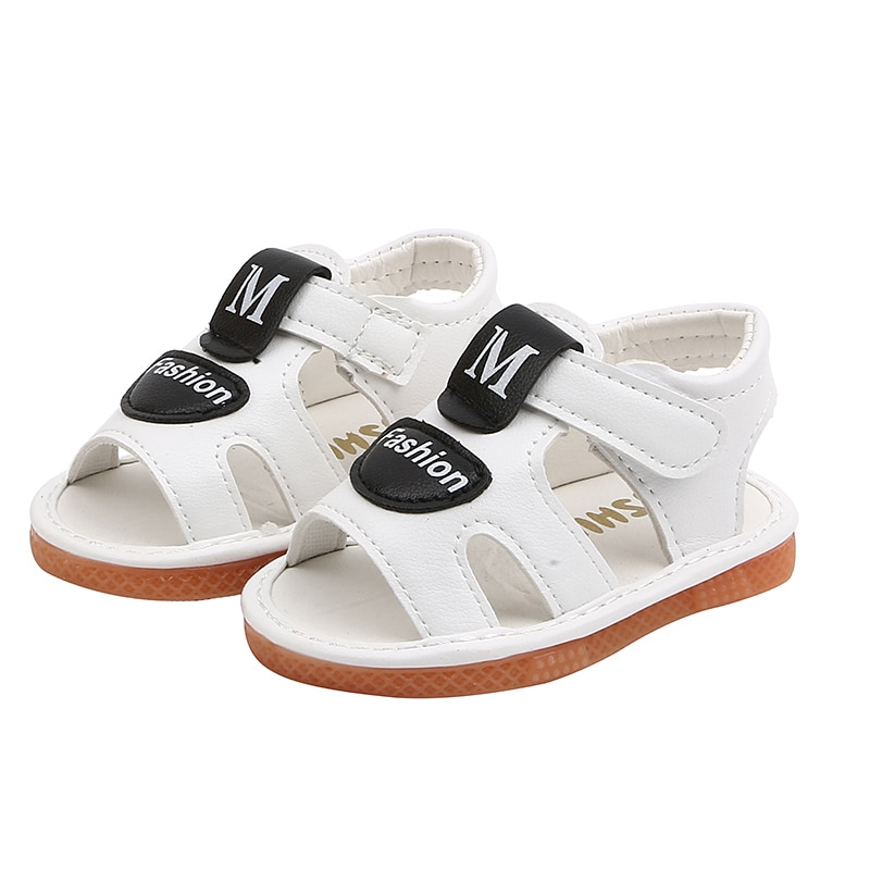 Детские сандалии; обувь для мальчиков; Летние повседневные мягкие сандалии для девочек; детская обувь; От 0 до 2 лет; модные детские сандалии ...