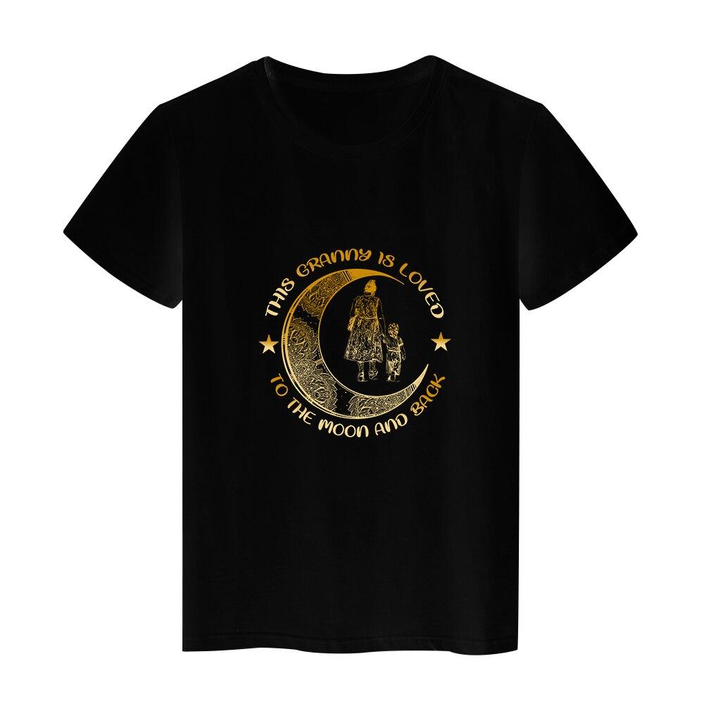 Hipster Harajuku Mother's Day T-shirts Women T Shirt Streetwear Summer Short Sleeve Tops Black Tees 2021 O-neck Edgy Tshirt