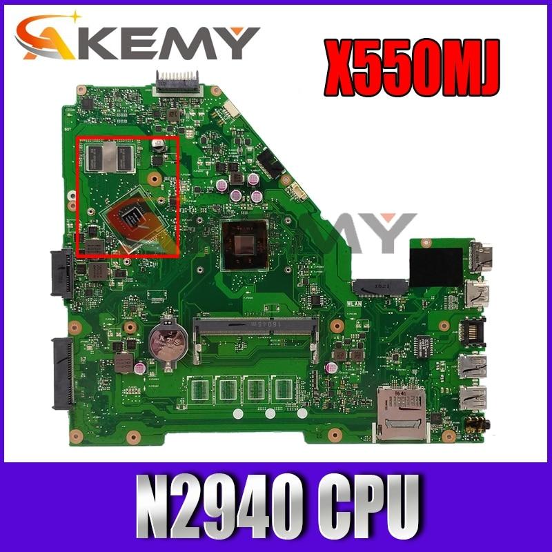 لوحة أم للكمبيوتر المحمول X550MJ MAIN_BD._ 0 M/N2940/AS V1G 90NB0830-R00040 REV 2.0 لـ ASUS X550MD X550MJ X552M Y582M K550M