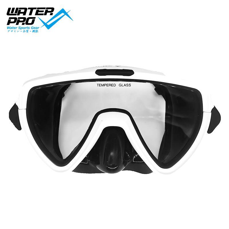 Waterpro-Máscara de esnórquel para buceo, gafas antiniebla para natación, respiración fácil, equipo...