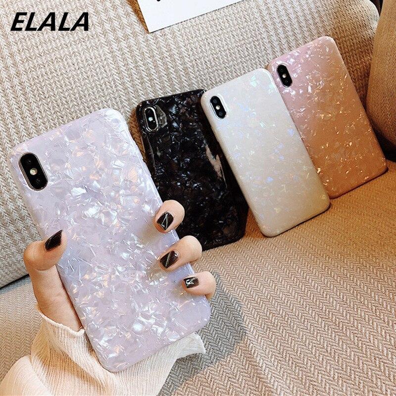 Capa de mármore brilhante para iphone, capinha de silicone epóxi e glitter macia para iphone 6, 7, 8 plus, 11 pro, x, xs, max, xr capa para iphone 7 11 pro